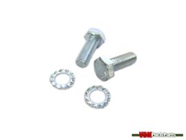 Headlight mounting bolt set