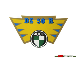 Transfer sticker achterspatbord Puch DS50R