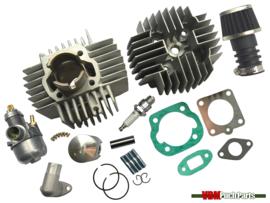Airsal cilinder set 50cc OM (38mm) 15mm Bing origineel Puch Maxi