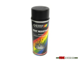 Motip spray paint heat resistant 400ml (Black)
