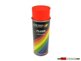 Motip spray paint fluor 400ml (Orange/Red)