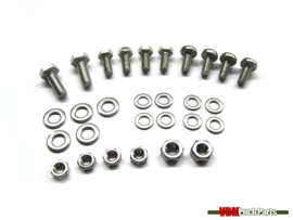 Bolts/Nut mounting set front mudguard (Puch Maxi N)