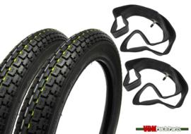 17 inch 2.75 Deestone D777 Tyre set