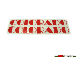 Tank transfer sticker set Puch Colorado