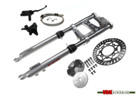 VDM Disc brake kit (Complete kit with EBR front fork short 56cm Silver)