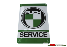 Sign Puch service (30X20cm)