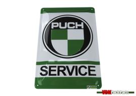 Schild Puch Service (30X20cm)