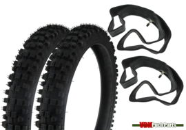 16 inch Kenda K760F Cross Tyre set