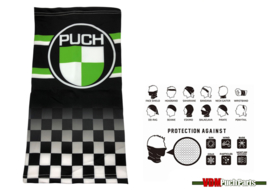 Face shield/wind breaker Puch Finish Flag