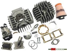 Gilardoni/Italkit cylinder set 74cc (47mm) 21mm Dellorto Puch Maxi