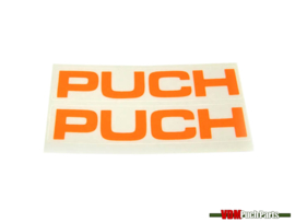 Aufklebersatz Puch (Fluor Orange)