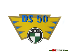 Transfer sticker achterspatbord Puch DS50