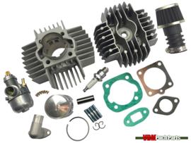 Airsal cilinder set 70cc NM (45mm) 15mm Bing origineel Puch Maxi