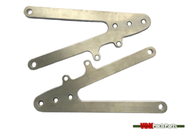 VDM Racing footpeg plates adjustable
