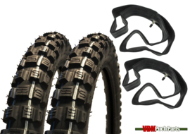 17 Inch 2.25 Deestone D982 Cross Tyre set