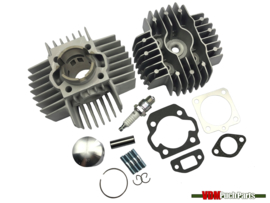 VDM Racing cylinder set 50cc 6 Port NM (38mm) Puch Maxi