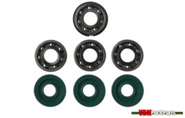 Revision kit 4 bearings (new model)