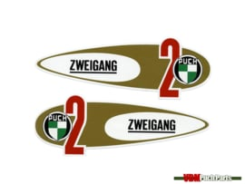 Tank transfer sticker set Zweigang Puch VS50