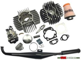 VDM Racing cylinder set 70cc 6 Port NM (45mm) 17.5mm Dellorto replica Homoet P6 Puch Maxi