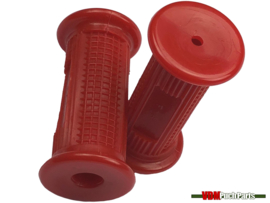 Footrest rubber set red v1 Puch Maxi
