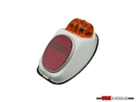 Taillight Hella big white universal Puch/Kreidler/Zundapp