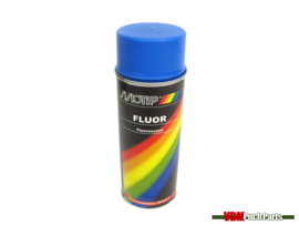 Motip spray paint fluor 400ml (Blue)