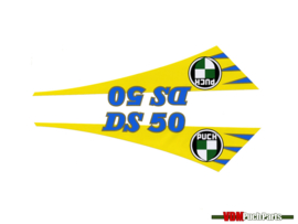 Tank transfer sticker set Puch DS50