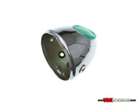 Egg-Headlight housing chrome (Side mounting)