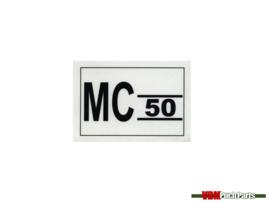 Aufkleber Werkzeugkasten Puch MC50ll