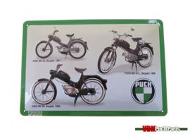 Sign Puch MS50/MV50 (30X20cm)