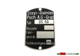Typetag Puch DS50