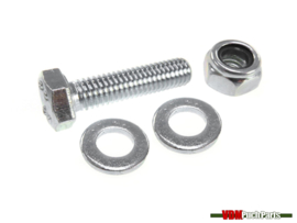 Exhaust clamp bolt/nut set