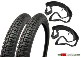17 inch 2.25 Deestone D776 Tyre set