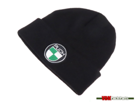 Beanie hat with Puch logo (Black)