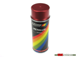 Motip spray paint metallic 400ml (Red)