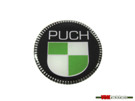 Sticker rond 3D 50mm Puch Monza