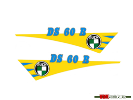 Tank transfer sticker set Puch DS60R
