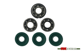 Revision kit 3 bearings (new model)