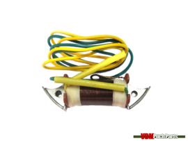 Lichtspoel rem/knipperlicht (6 Volt 5/15 Watt 2 kabels)