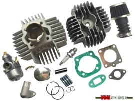 Airsal cilinder set 50cc NM (38mm) 15mm Bing origineel Puch Maxi