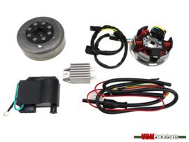 Kokusan ignition electronic complete (12 Volt)