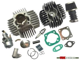Airsal cilinder set 50cc NM (38mm) 15mm Bing replica Puch Maxi