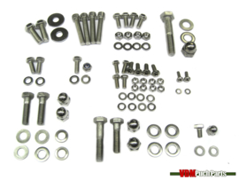 Frame bolt and nut set stainless steel Puch Maxi S