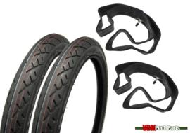 17 inch 2.25 Deestone D798 Tyre Semislick set