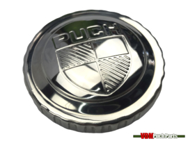 Tankdop bajonet chroom Puch logo 30mm Puch Maxi