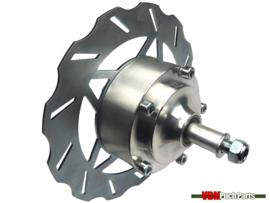 VDM disc brake kit complete with EBR front fork short 56cm silver
