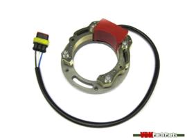 Stator/groundplate (HPI Inner rotor ignition)