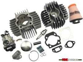 VDM Racing cylinder set 70cc 6 Port NM (45mm) 17.5mm Dellorto replica Puch Maxi