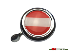 Bell Austria chrome dome sticker