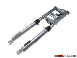 EBR front fork short 56cm Silver